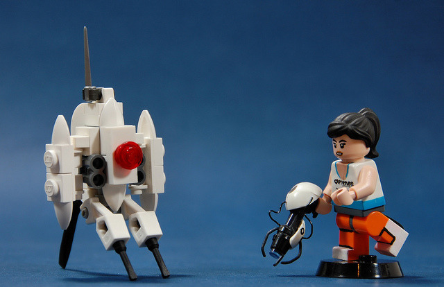 laughingsquid:  LEGO Version of Portal 2
