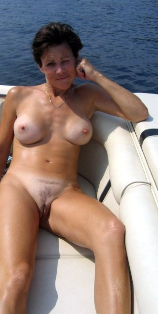 Full frontal nude mature milf
