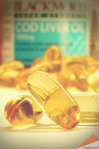 Cod Liver Oil Taken with Canon PowerShot S40 in May 2005.