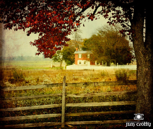 Autumn at Gettysburg by Jim Crotty on Flickr.Autumn on the Battlefield @ Gettysburg #digitalartphotography