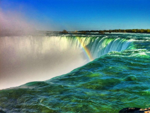 iPhone photo at Niagara Falls
