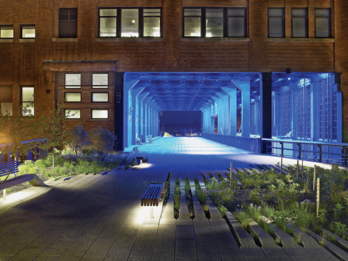NYC's Highline as featured in Architectural Lighting: Designing With Light and Space Architectural Lighting, the latest addition to the Architecture Briefs series, provides both a critical approach to and a conceptual framework for understanding the application of lighting in the built environment. The key considerations of lighting design are illuminated through accessible texts and instructional diagrams. Six built projects provide readers with concrete examples of the ways in which these principles are applied. Short essays by architect Steven Holl, artist Sylvain Dubuisson, and landscape architect James Corner explore the role of lighting in defining spatial compositions.