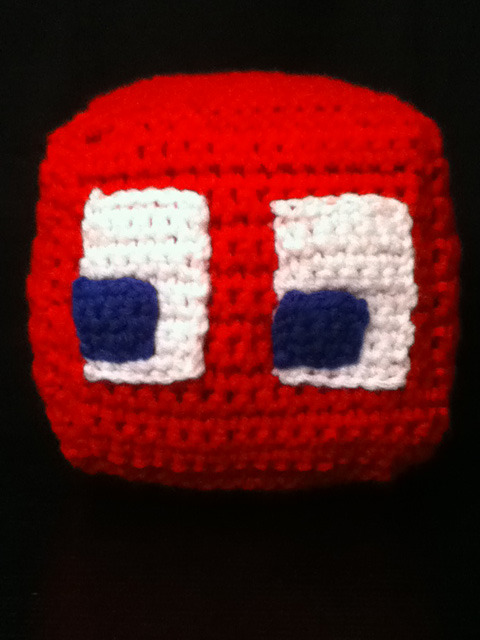 Here's Blinky! I only have one ghost left and my Ms. Pac-Man series will be complete.