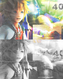 Angels in flight.  I really like this screenshot of Sora. I think it really shows how much he loves Kairi.