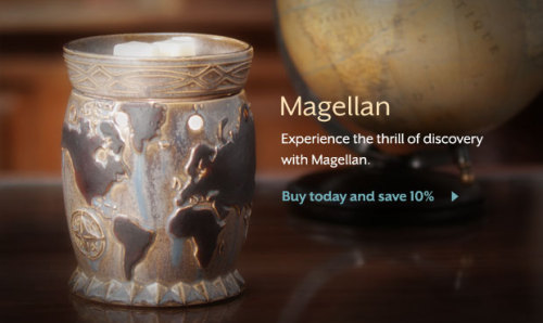 "May's Scentsy Warmer of the Month~ ""Magellan"""