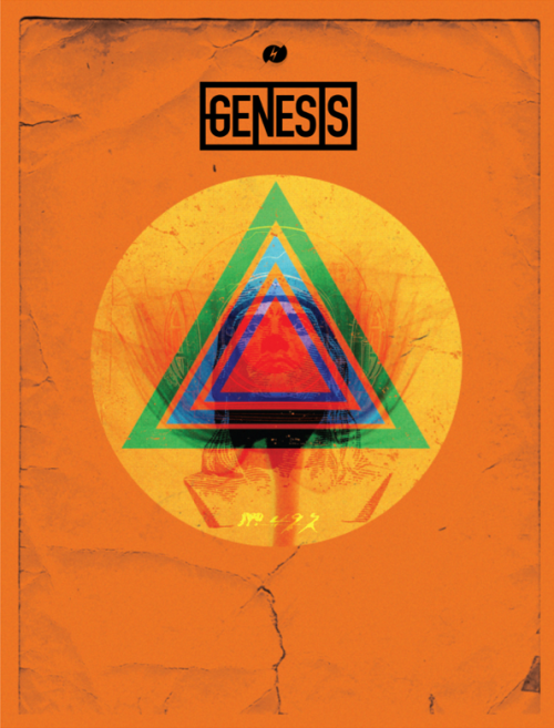 GENESIS • Recent work #dancristea #konstruktivist #k0nstruktivist #graphicdesign #illustration