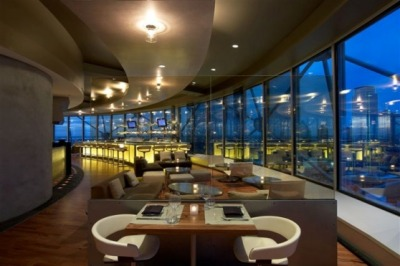 Wolfgang Puck's Five Sixty is currently one of my favorite restaurants with a great Asian fusion menu and an amazing view. The good.. I have yet to try anything there that I haven't liked, but my favorite so far is the Lacquered Chinese Duckling in a blood orange-port wine sauce.  I'm salivating just thinking of it now! The bad… As with any hot and trendy restaurant, service can be spotty at times. I usually try to go mid-week or less popular times during the weekend when things aren't so hectic.  But the food is so good that I've been able to overlook those occassional times when drinks or food take a while to arrive at the table. What do you think?