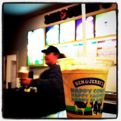 Late afternoon #FairTrade coffee shake! (Taken with Instagram at Scoop U)
