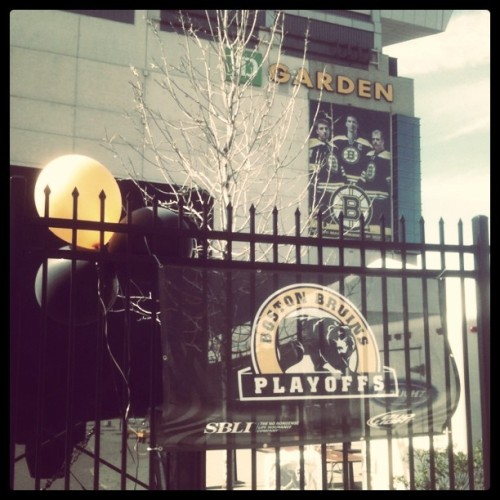 #BRUINS (Taken with Instagram at TD Garden)