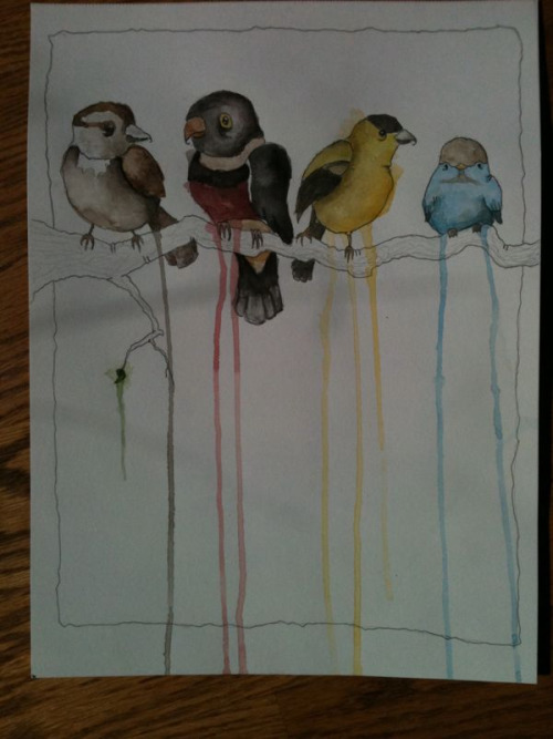 birds pt. 1 I'll scan it tonight. let me know what you think :3