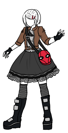 In which, LadyLawga created a psuedo-cyberpunk lolita coordinate inspired by Jason Todd/Red Hood, and now I want to make a Red Hood purse (says the girl who still insists that she doesn't really like Jason Todd all that much…). I love chunky platformed space boots and tulle netted skirts, so I'm sold. I can only hope that the Red Hood purse is carrying a makeup purse that is in the shape of a domino mask ;)