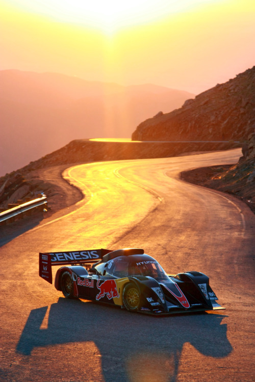 Pikes Peak 2010, Practice  via: roadandtrack