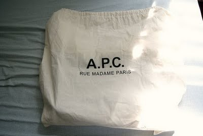 A.P.C. Leather Bag