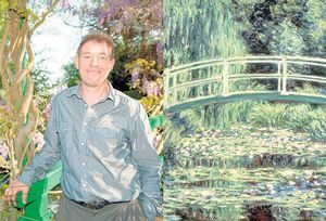 Sacre bleu! The man who will soon be in charge of Monet's famous garden (and iconic waterlilys) at Giverny is a Brit! Read all about him in this great profile from The Independent.