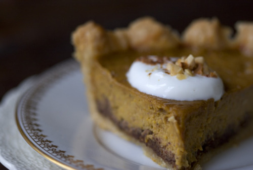 Spice Kissed Pumpkin Pie