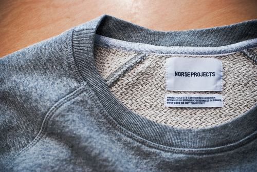 Norse Projects - Vorm Sweat  at Department Seventeen