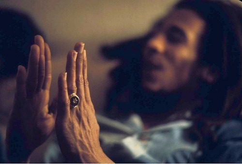 "Bob Marley on how to love a woman ""You may not be her first, her last, or her only. She loved before she may love again. But if she loves you now, what else matters? She's not perfect - you aren't either, and the two of you may never be perfect together but if she can make you laugh, cause you to think twice, and admit to being human and making mistakes, hold onto her and give her the most you can. She may not be thinking about you every second of the day, but she will give you a part of her that she knows you can break - her heart. So don't hurt her, don't change her, don't analyze and don't expect more than she can give. Smile when she makes you happy, let her know when she makes you mad, and miss her when she's not there."" - Bob Marley  the last part . <3"