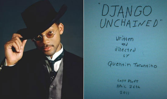 "Will Smith The Frontrunner For Quentin Tarantino's 'Django Unchained'  When Quentin Tarantino makes a casting wishlist, he sets his sights high. ""High"" as in one of the biggest box office stars in the world. The writer/director is currently meeting about his upcoming spaghetti Western Django Unchained and people involved in the meetings have revealed to The Hollywood Reporter that the director's top choice for the lead role of Django, a freed slave who is trained by a German bounty hunter to save his wife, is none other than Will Smith. The Hollywood Reporter also says that Samuel L. Jackson is circling as role as isChristoph Waltz, who was confirmed by William Morris Endeavor but he himself denied involvement. Jackson's role would be as the head slave of the bad guy, Monsieur Calvin Candie, who would face off with Django and Waltz is being eyed as the bounty hunter, the film's second lead."