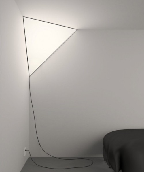 thearchtivist:  Established & Sons Corner Light by Peter Bristol