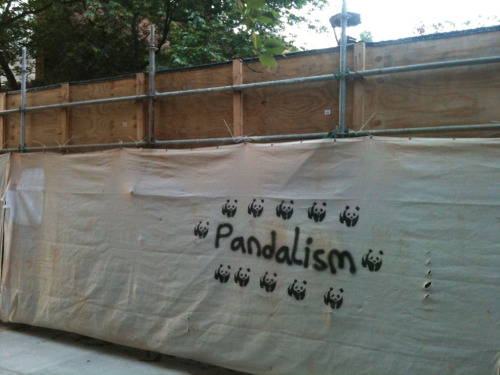 laughingsquid:  Pandalism