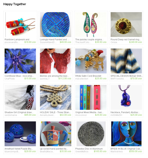 Happy Together by sunsan  http://www.etsy.com/treasury/4dc5212293968eefd0acdeff/happy-together