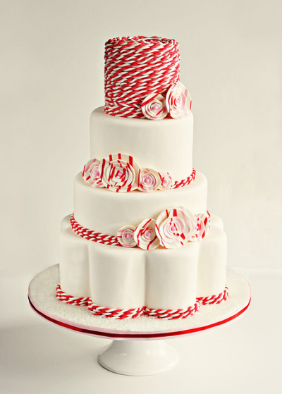 judywald:  twisted wedding cake