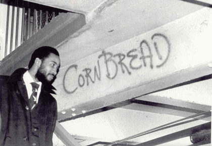 "Cornbread and The History of American Graffiti  Common knowledge to those in the know, but perhaps a surprise to neophytes, graffiti as we think of it today started in Philadelphia, not New York. In 1965, yearning for his grandmother's cornbread while at reform school, Darryl Alexander McCray started writing CORNBREAD on the school's buildings, vying for attention alongside the names of gangs. Released in 1967, CORNBREAD ran roughshod through North Philadelphia, inspiring others like COOL EARL and KOOL KLEPTO KIDD. Soon, teenagers were canvassing the city with their tags, running in crews, and keeping tabs on other crews operating in different neighborhood… …kids rallied around graffiti. In fact…they invented it: ""Graffiti can claim something that no other art movement can: it was entirely created and developed by kids.""  This book looks great."