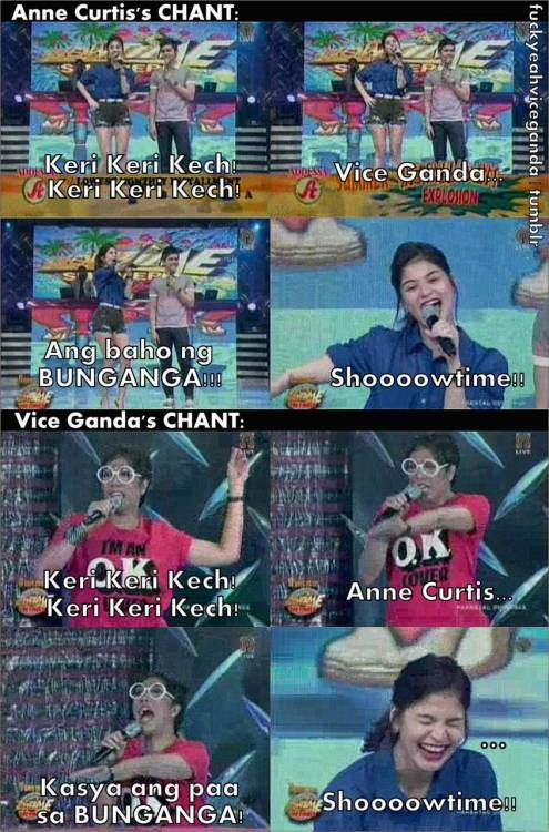 ANNE vs. VICE CHANT! >:))