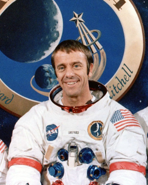 Alan Shepard. Serious Badass.  The first American in space (50 years ago this past week). But I knew him as the commander of the Apollo 14 mission (1971). I remember my first and second grade teachers rolling in TVs into our classrooms so we could watch the Apollo missions at school. Those Apollo astronauts were Gods to me as a little kid. As an adult, they are Serious Badasses.