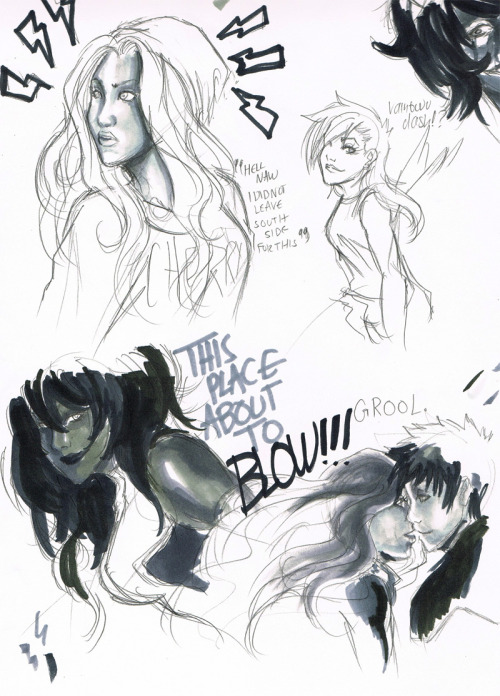 grimdarks:  playing with my greyscale markers Jenn sent me. :)  ,