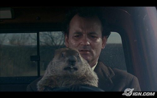 "FILM OF THE DAY Groundhog DayBill Murray Classic!""Well, what if there is no tomorrow? There wasn't one today."""