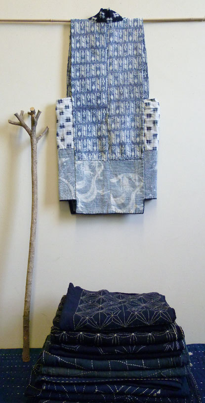 A Sashiko Stitched Vest from Tohoku