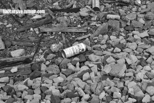 spray can in B&W taken by me