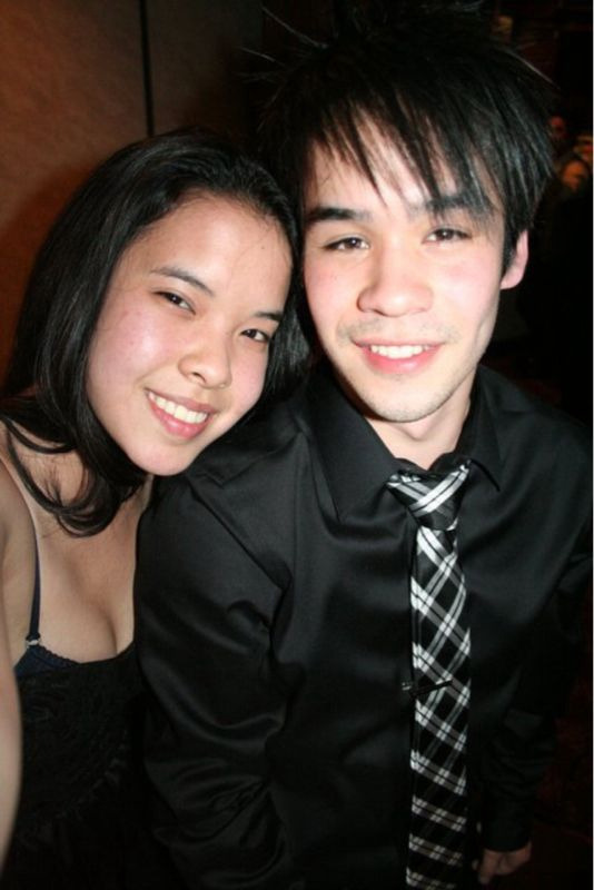 VSA Banquet :) my friend Kim and I. Being drunk, she's pretty good at taking photos haha.