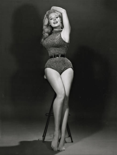 Betty Brosmer, 1950's