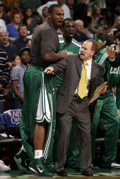 grandtheftrondo:  Reaction to Rondo's injury… Big Baby looks like he's gonna cry.