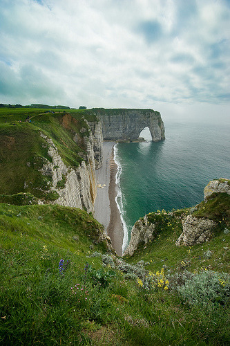 Etretat #3 (by David Briard)