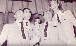 The Blackwood Brothers performing in Gulfport, MS on June 29, 1954