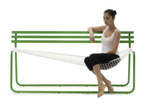 Thank you for inventing this for me. muchodeto:  The Siesta Bench