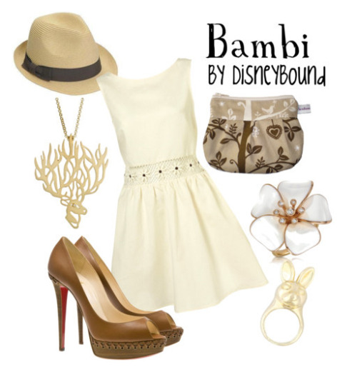 By Request: Bambi  I didn't know how I would do this one…but I actually like it. It's not even really my style lol