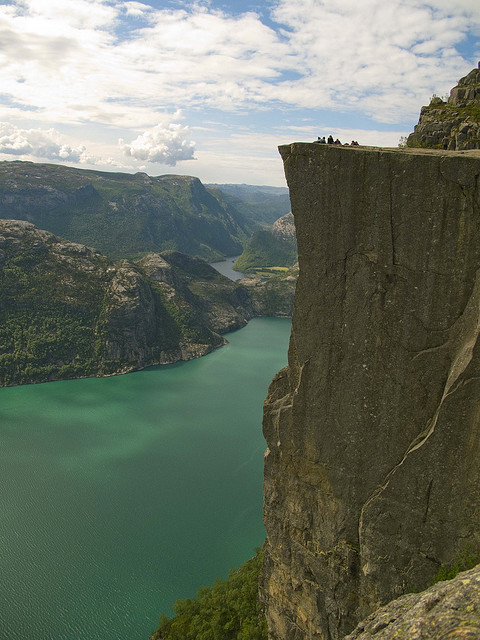 Pulpit Rock by dubbelt_halvslag on Flickr.