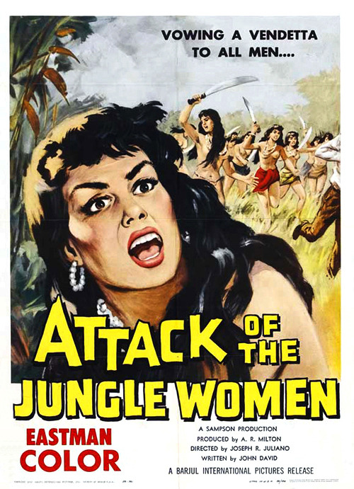Attack of the Jungle Women (1959)