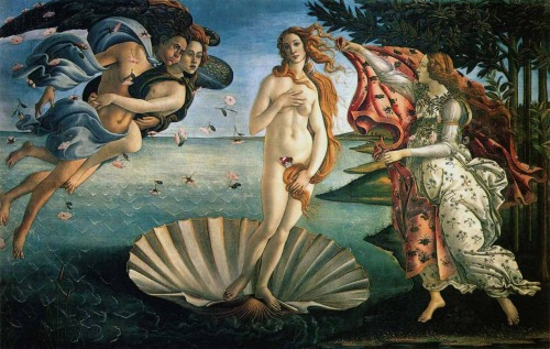 Sandro Botticelli: The Birth of Venus Found by Christina Elena.