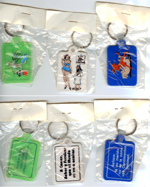 Dirty Spanish Keychains