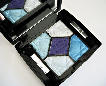 kimnicolemua:  Dior 5-Color Iridescent Eyeshadow Palette - Electric Lights