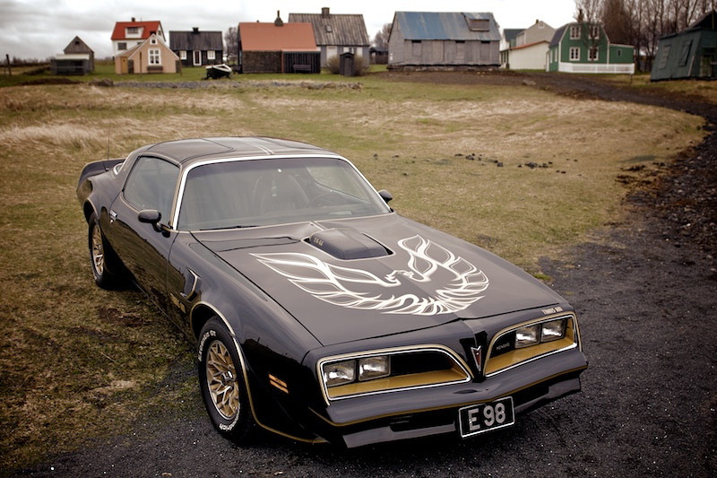 Bandit Land by Gudfinner Eriksson 1977 Pontiac Firebird Trans Am in Iceland