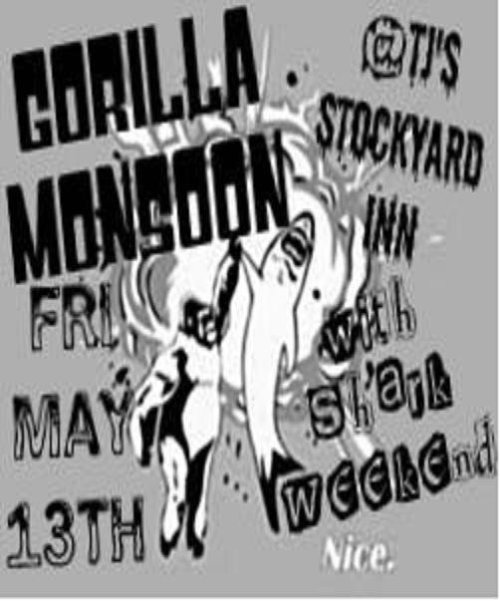 Come and see us play at TJ Stockyard this coming  Friday!  This is going to be a really amazing show and I'm going to wear  a silly little Friday the 13th inspired costume!  It's worth seeing if  you like booty cheeks which I know most of you do!  Hahahaha!