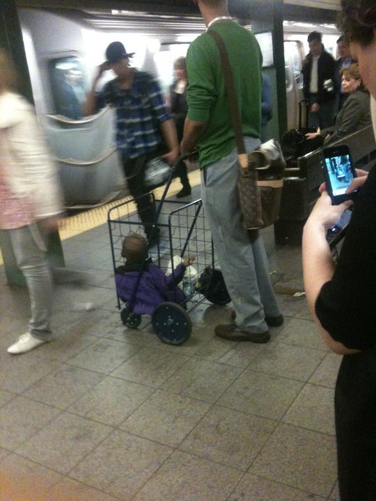 WTF!!! When was it okay to treat your child like cargo?? someone needs a parenting for Dummies book!!!