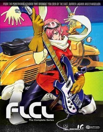 Watch This Week - FLCL  A 12-year old boy named Naota one day meets a strange woman, riding a Vespa and wielding a big guitar. As soon as she appears, mysterious things start happening. (Trailer)  Watch it this week, share your thoughts about it for next week.
