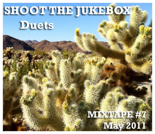 Shoot The Jukebox returns! This month's show is on TUESDAY MAY 10th, 2011 at The Commodore in Williamsburg, Brooklyn from 9pm - 1am. Whiskey, Beer, Two-Steppin, Fried Chicken, Greens. This month's mixtape is a celebration of DUETS. Download the mixtape for free by clicking on this mediafire link: http://www.mediafire.com/?citspqb8rdqkzdd Track Listing: 1. Kenny Rogers and Dolly Parton - Islands In The Stream 2. Dwight Yokam and Buck Owens - Streets of Bakersfield 3. Georgoe Jones and Merle Haggard - Yesterday's Wine 4. The Band with Emmylou Harris - Evangeline 5. Bonnie Raitt and John Prine - Angel From Montgomery 6. Merle Haggard and Tammy Wynette - Today I Started Lovin' You Again 7. Conway Twitty and Loretta Lynn - Louisiana Woman, Mississippi Man 8. Johnny Cash and June Carter - Give My Love To Rose 9. Waylon Jennings and Willie Nelson - Mamas Don't Let Your Babies Grow Up To Be Cowboys 10. Tammy Wynette and George Jones -  D-I-V-O-R-C-E